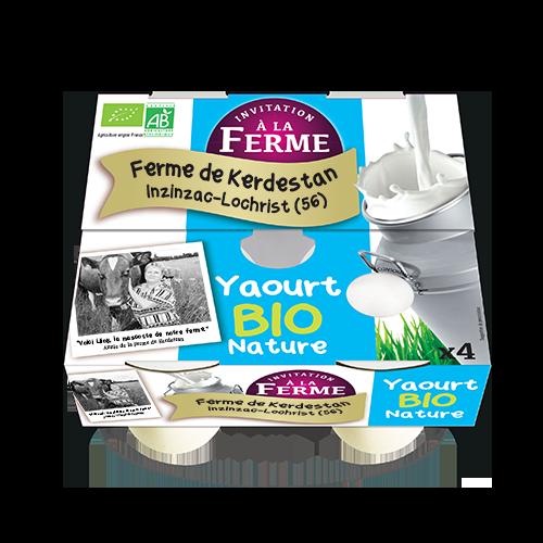 Yaourt bio nature 4 X 125G