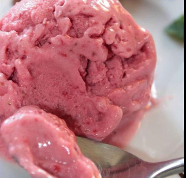 Glace fraise-yaourt