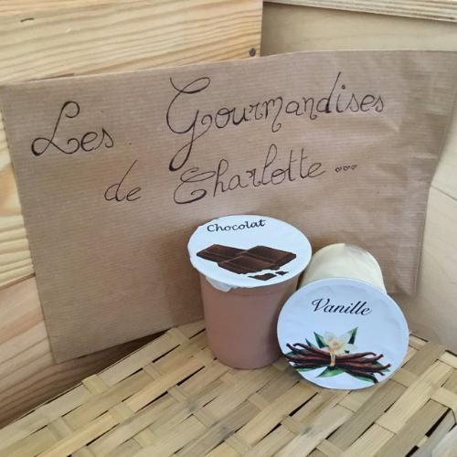 Gourmandise de Charlotte-crème dessert vanille-4pots (Alexandre)