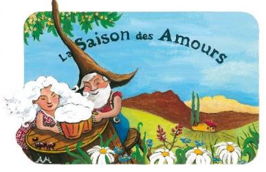 Saison des amours ambrée 75cl (Manu et Gwenael)