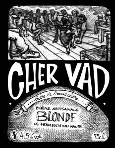 Bière BLONDE Cher Vad