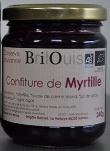 011# Confiture de myrtille 240g