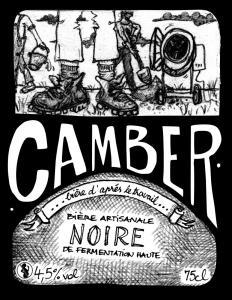 Bière NOIRE Camber