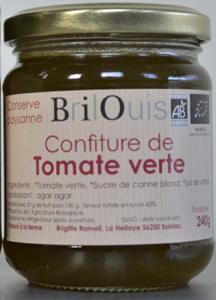 017# Confiture de tomate verte