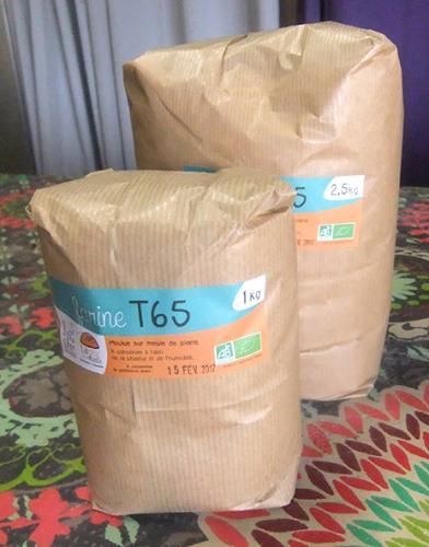 200#Farine T65, 2.5kg