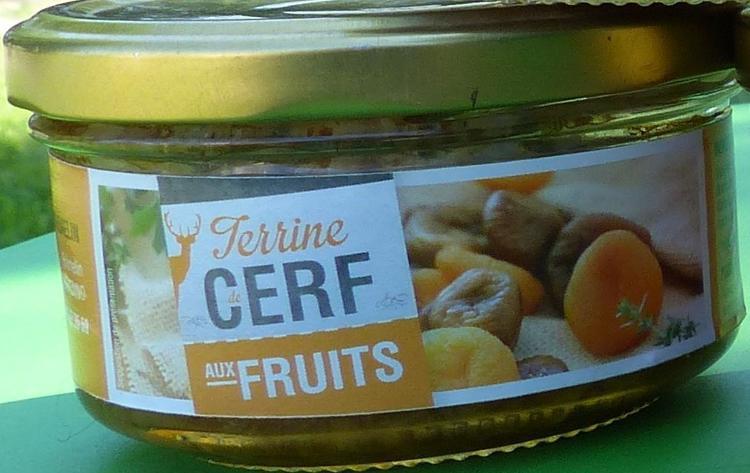 Terrine de Cerf aux fruits