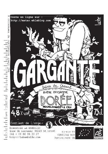 """Bière avec plein de houblon """"Gargante"""""""
