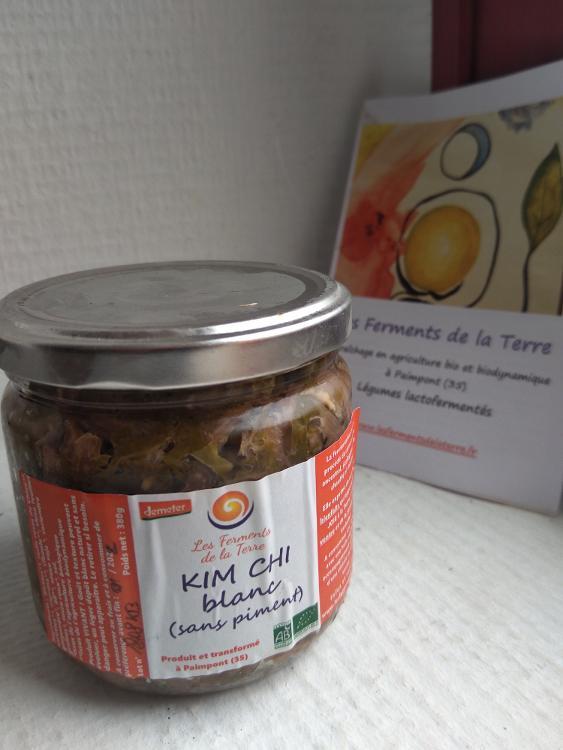 KIM CHI BLANC choucroute coréenne SANS piment, PETIT pot 250gr