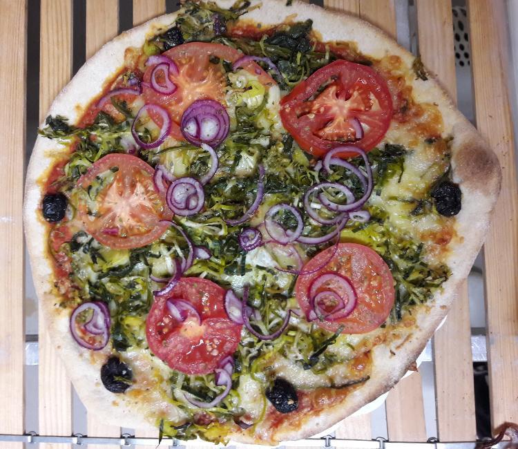 """Pizza paysanne """"Brémelin"""""""