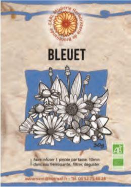 """Tisane Simple """"Bleuet"""""""