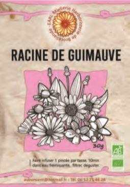 """Tisane Simple """"Racine de Guimauve"""""""