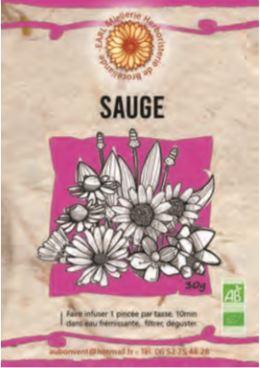"Tisane Simple ""Sauge"""