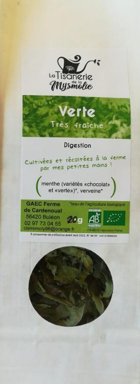 006# Tisane  Verte - digestive classique