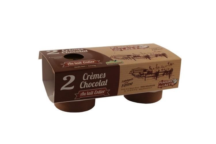 crème au chocolat 125gr