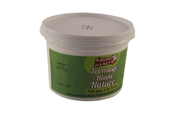 fromage blanc nature au lait entier 500gr