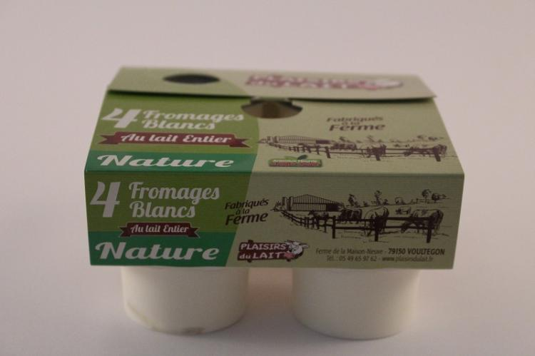 fromage blanc nature au lait entier 125gr