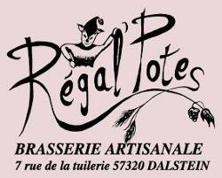 Bière artisanale Blanche  REGAL'POTES 75 cl