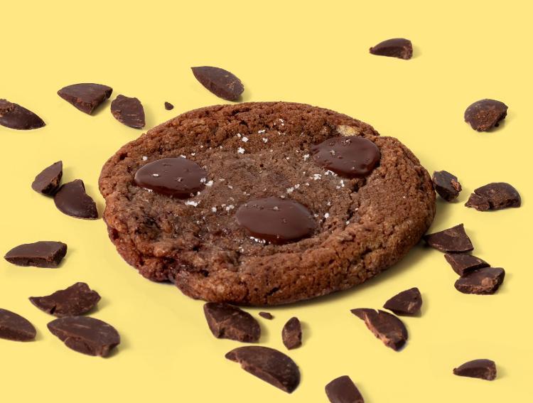 Cookie Chocolat Noir Fleur de Sel