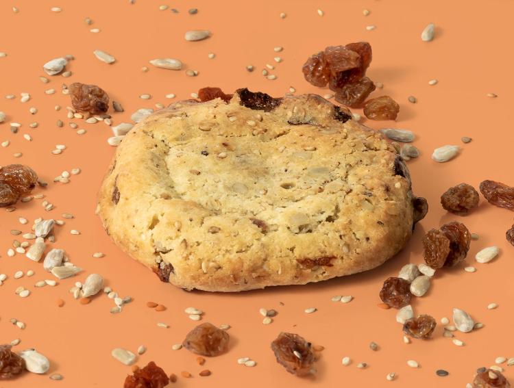 Cookie Graines (Tournesol et Sésame) et Raisin