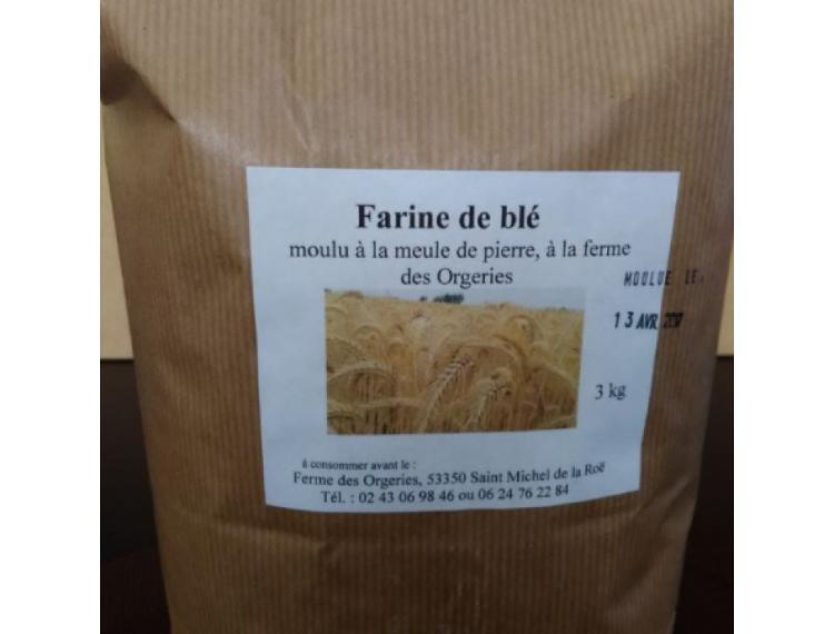 Farine de blé T80 3 kg