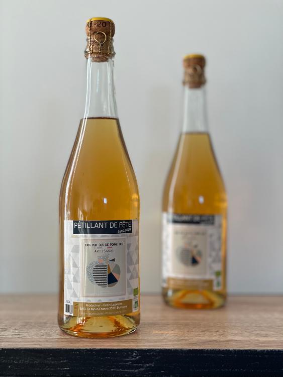PETILLANT de pomme 75cl - boisson sans alcool, fruitée et rafraichissante !
