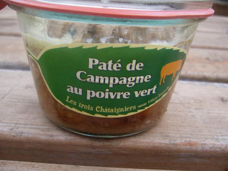 Pâté de Campagne au Poivre vert