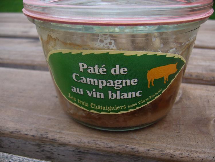 Pâté de Campagne au Vin Blanc