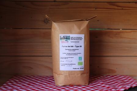 Farine blé ancien T80 - 1 Kg
