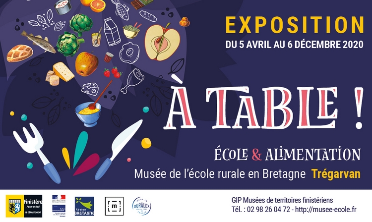 Exposition « A table : Ecole et alimentation »
