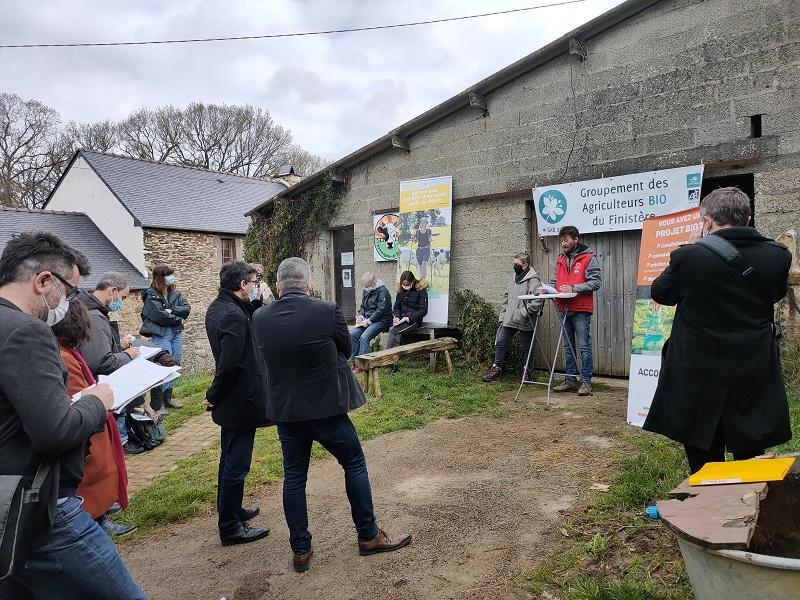 Le Finistère passe le cap des 1 000 fermes bio !
