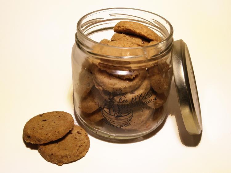 Biscuits petit épeautre citron (végan)