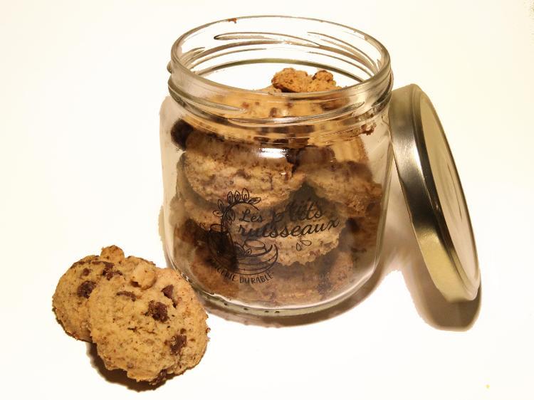 Biscuit choco noisette sans gluten