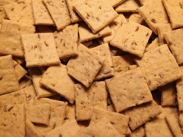 Biscuits sablés cumin