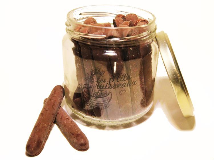 Buchettes d'épeautre au chocolat