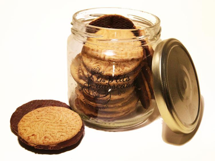 Délices chataigne nappés chocolat