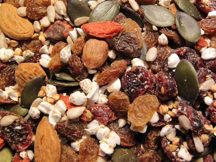 Muesli fruits secs & sarrasin (sans gluten)