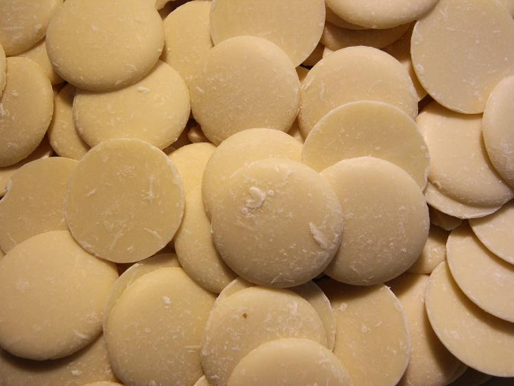 Palets chocolat blanc