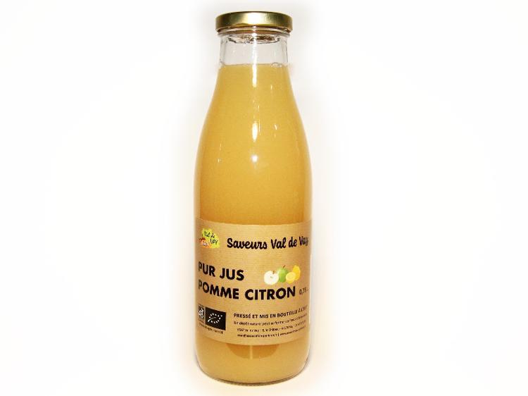 Jus pomme citron 0.75L