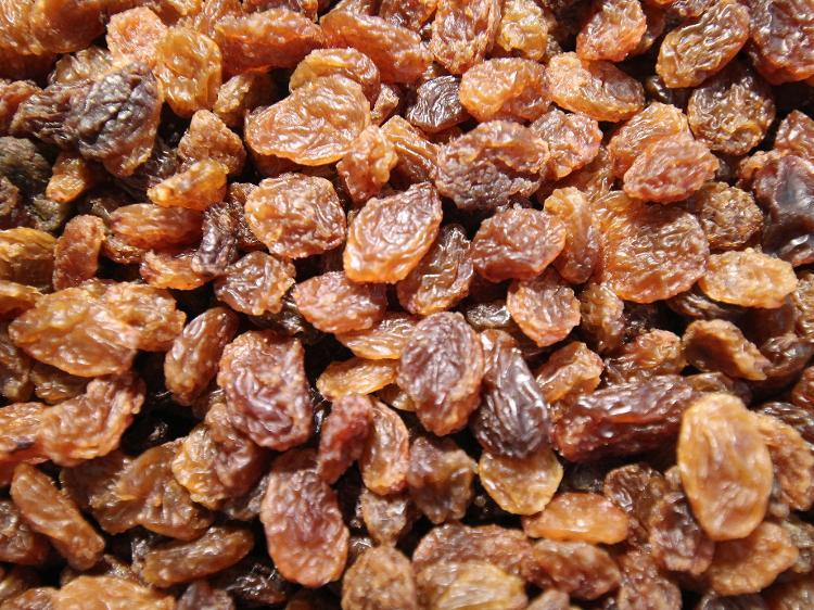 Raisins secs sultamines