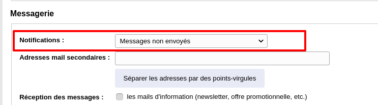 attention paam mail