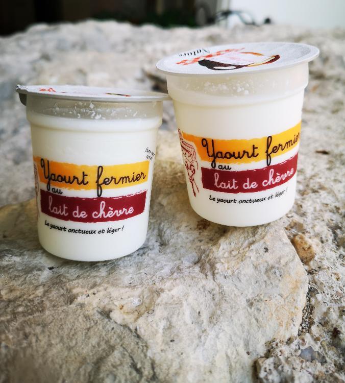 Yaourt au lait de chèvre - L'unité - Nature - Ferme de Letou