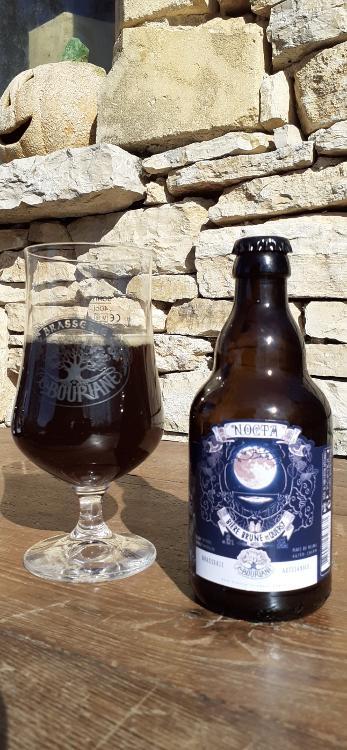 Bière brune - Nocta - 33cl