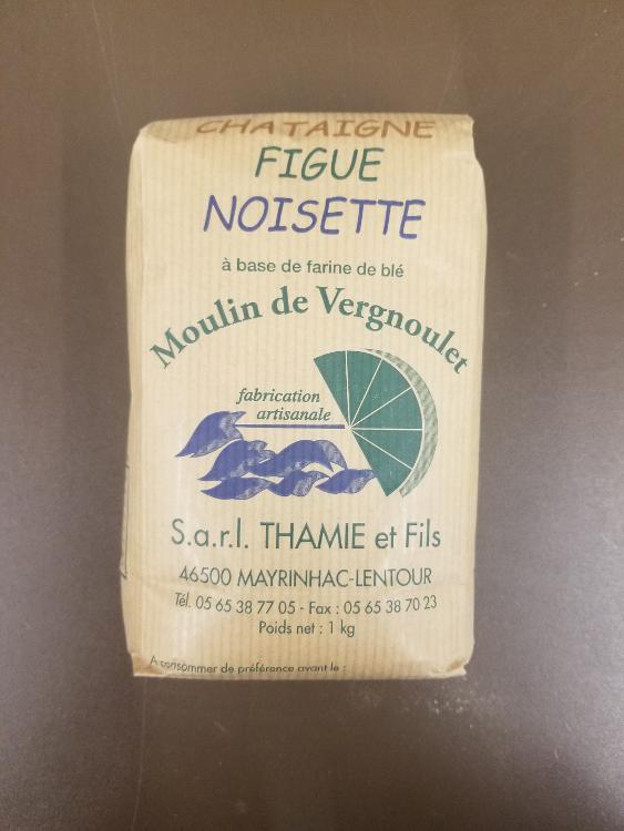 Farine de Chataigne, Figue et Noisette