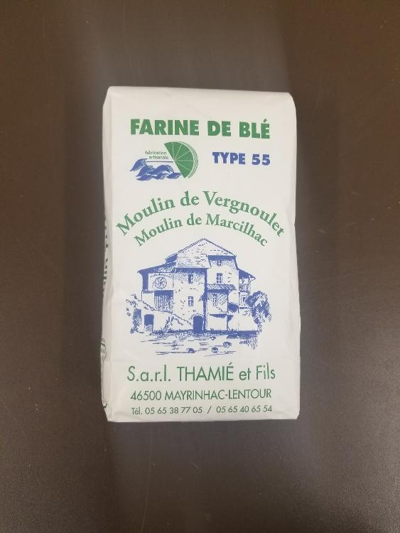 Farine de blé T 55 - 1 kg