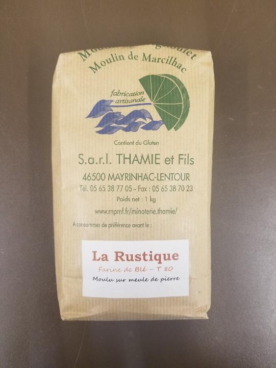 Farine de blé T 80 1kg