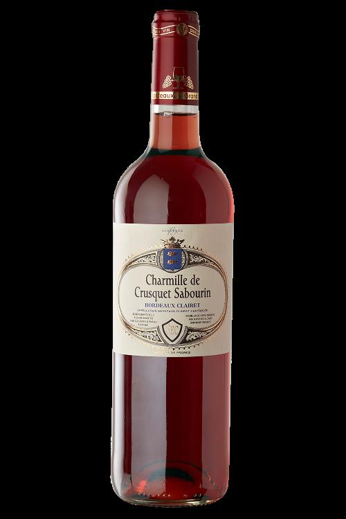 Charmille de Crusquet Sabourin - AOC Bordeaux Clairet