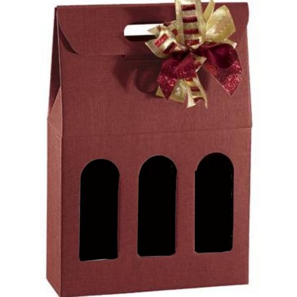 Emballage Cadeau 3 Bouteilles