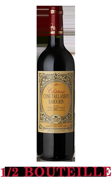 1/2 Bouteille Château Cone-Taillasson Sabourin 2017 - AOC Blaye Côtes de Bordeaux