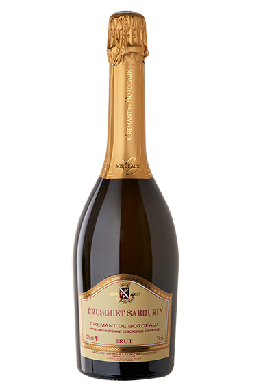 Crémant Crusquet Sabourin Brut - AOC Crémant de Bordeaux