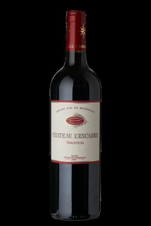 Château L'Escadre 2018 - AOC Blaye Côtes de Bordeaux